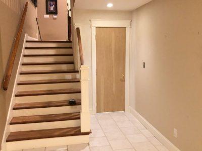 door to residential elevator